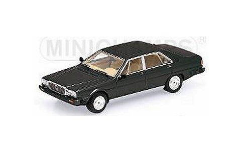 マセラティ クアトロポルテ 3 ロイヤル 1989 ブラック (1/43 ミニチャンプス437123501)