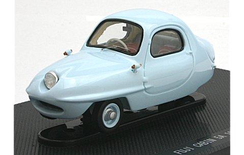 フジ キャビン 5A 1955 ライトブルー (1/43 エブロ45182)