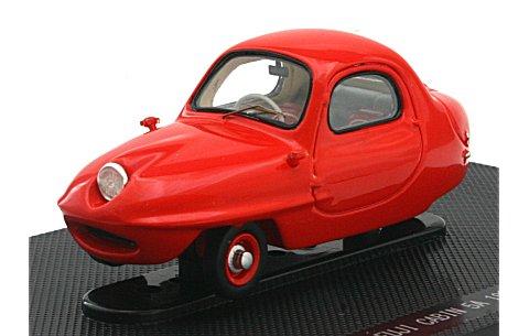 フジ キャビン 5A 1955 レッド (1/43 エブロ45183)