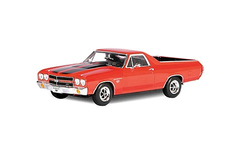 シボレー エルカミノ 1970 レッド (1/18 ウエリーWE12543R)
