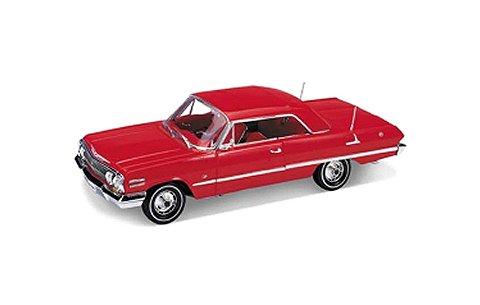 シボレー インパラ ハードトップ 1963 レッド (1/18 ウエリーWE19865HR)