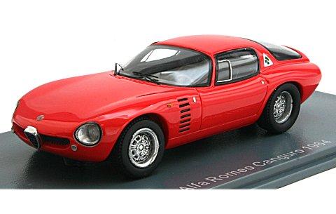 アルファロメオ Canguro 1964 レッド (1/43 ネオNEO43170)