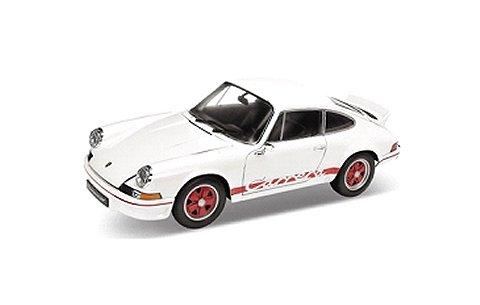 ポルシェ 911 カレラ RS 1973 ホワイト/レッドライン (1/18 ウエリーWE18044WR)