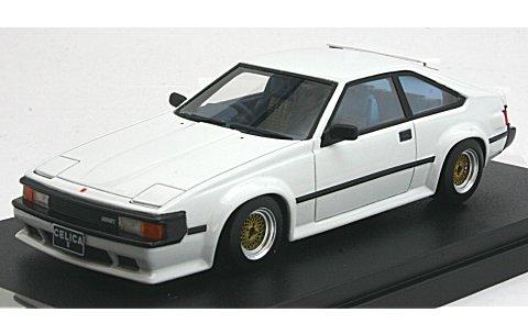 トヨタ セリカ XX 2800GT 1981 改 ホワイト (1/43 ハイストーリーHS106WH)