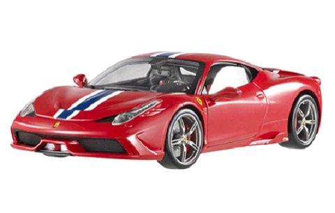 フェラーリ 458 スペチアーレ レッド エリートシリーズ (1/18 マテルMTBLY31)