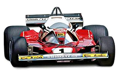 フェラーリ 312 T2 ニキ・ラウダ モンテカルロGP 1976 (1/18 マテルMTBLY40)