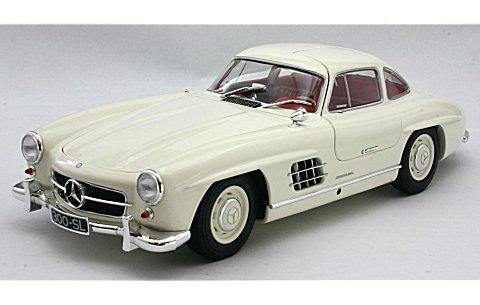 メルセデスベンツ 300SL (W198I) 1954 ホワイト (1/18 ミニチャンプス180039006)