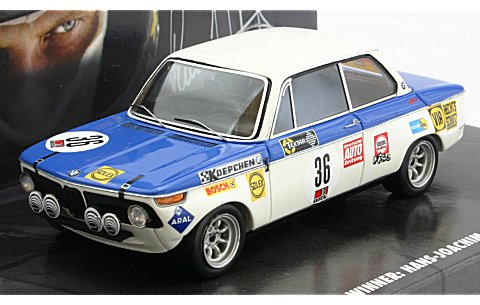 BMW 2002ti H.J.スタック 24h ニュルブルクリング 1970 ウイナー (1/43 ミニチャンプス444700236)