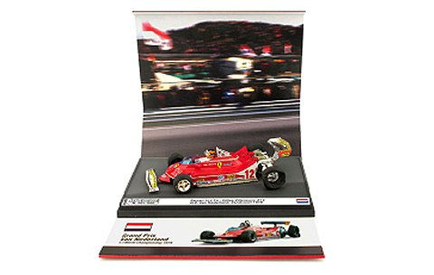 フェラーリ 312 T4 1979 オランダGP No12 Gilles Villeneuve Gilles on three wheels!! (1/43 ブルムAS59B)