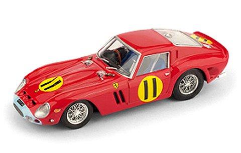 フェラーリ 250 GTO 4399GT 1963 ツーリストトロフィー グッドウッド1位 No11 Graham Hill (1/43 ブルムR537)