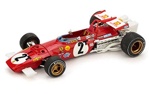 フェラーリ 312B 1970 イタリアGP Tカー No2 Jacky Ickx (1/43 ブルムR313TB)