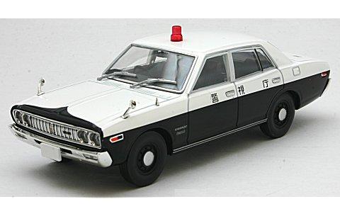 ニッサン セドリック パトロールカー 73年型 警視庁 (1/43 トミーテック275640)