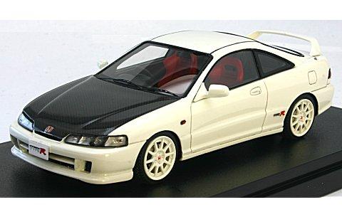ホンダ インテグラ Type R 98 spec(DC2) カーボンボンネット チャンピオンシップホワイト (1/43 マーク43 PM4311CW)
