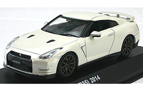 ニッサン GT-R (R35) 2014 ブリリアントホワイトパール (1/43 京商KS03744BW)