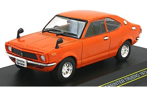 トヨタ スプリンター トレノ 1972 オレンジ (1/43 ファースト43 F43-001)