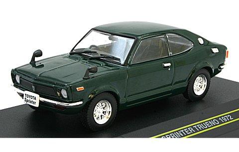 JANコード/ISBNコード:トヨタ スプリンター トレノ 1972 グリーン (1/43 ファースト43 F43-002)