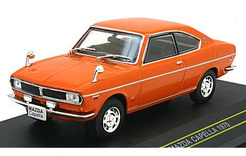 マツダ カペラ 1970 オレンジ (1/43 ファースト43 F43-003)
