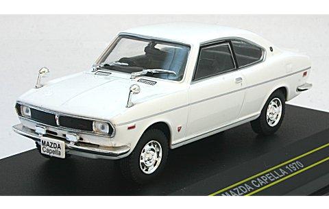 マツダ カペラ 1970 ホワイト (1/43 ファースト43 F43-004)