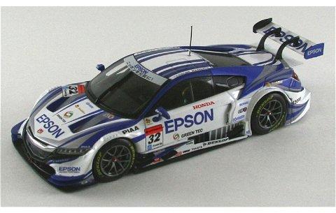 エプソン NSX コンセプト-GT スーパーGT500 2014 No32 (1/43 エブロ45074)