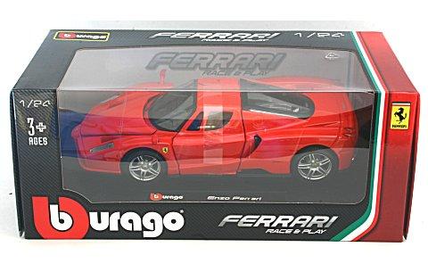 エンツォ フェラーリ レッド (1/24 ブラーゴ BB200-473)