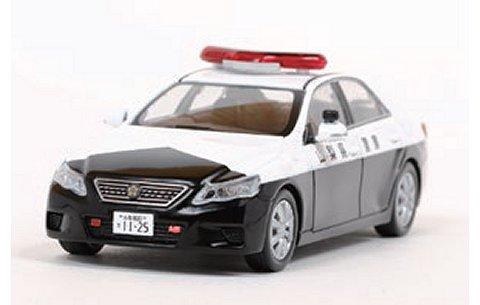 トヨタ マークX 250G Four (GRX135) 2011 山梨県警察所轄署地域警ら車両 (1/43 レイズH7431109)