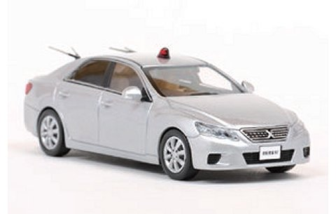 トヨタ マークX 250G (GRX130) 2011警察本部刑事部機動捜査隊両 (1/43 レイズH7431110)