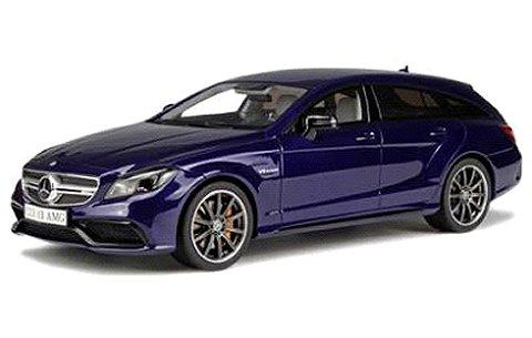 メルセデスベンツ CLS63 AMG シューティングブレイク ダークブルー (1/18 GTスピリット GTS040)