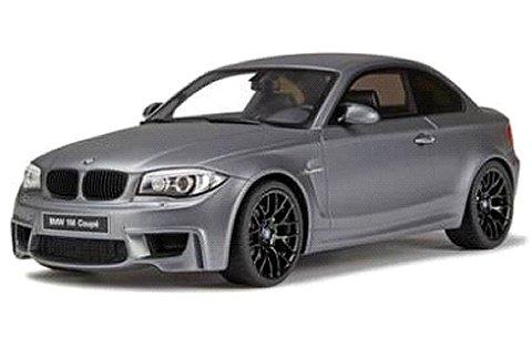 BMW 1M クーペ マットグレー (1/18 GTスピリット GTS709)