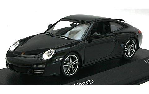 ポルシェ 911 カレラ (997II) 2008 ブラックエディション (1/43 ミニチャンプス400066425)