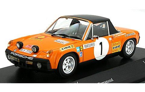 ポルシェ 914/6 LARROUSSE/PERRAMONT モンテカルロラリー 1971 (1/43 ミニチャンプス400716501)