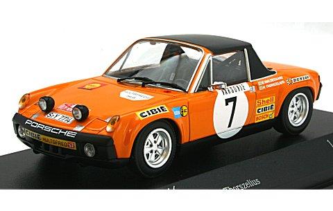 ポルシェ 914/6 WALDEGAARD/THORSZELIUS モンテカルロラリー 1971 (1/43 ミニチャンプス400716507)
