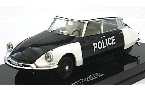 シトロエン DS19 1960 パリ警察 (1/43 ビテス23508)