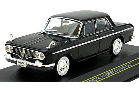トヨタ トヨペット クラウン 1962 ブラック (1/43 ファースト43 F43-005)