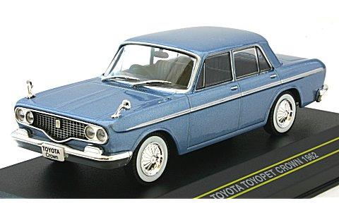 トヨタ トヨペット クラウン 1962 ブルー (1/43 ファースト43 F43-006)
