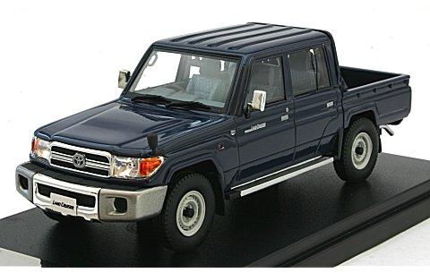 トヨタ ランドクルーザー 70 ピックアップ 2014 ブルー (1/43 ハイストーリーHS116BL)