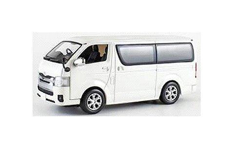 トヨタ ハイエース 2014 ホワイト (1/43 京商KS03861W)