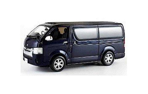 トヨタ ハイエース 2014 ダークブルー (1/43 京商KS03861BM)