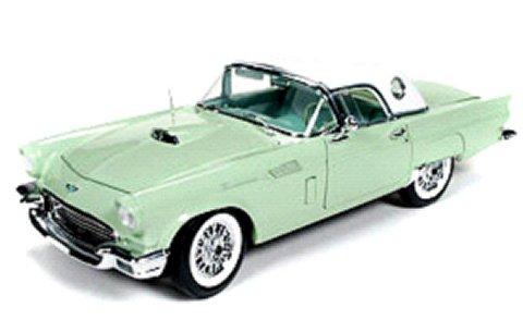 1957 サンダーバード コンバーチブル ウィローグリーン (1/18 アメリカンマッスルAMM1045)