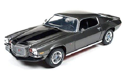 1970 シボレー カマロ Z/28 グレー/ブラック (1/18 アメリカンマッスルAMM1044)