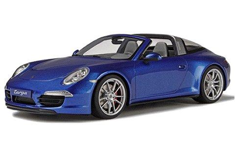 ポルシェ 911(991) タルガ 4S ブルーM (1/18 GTスピリット GTS037)