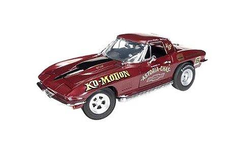 1967 コルベット (Baldwin Ko-Motion) バーガンディM (1/18 オートワールドAMM1050)