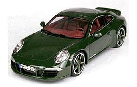 ポルシェ 911 カレラ スポーツデザイン ダークグリーン (1/18 GTスピリット GTS007CS)