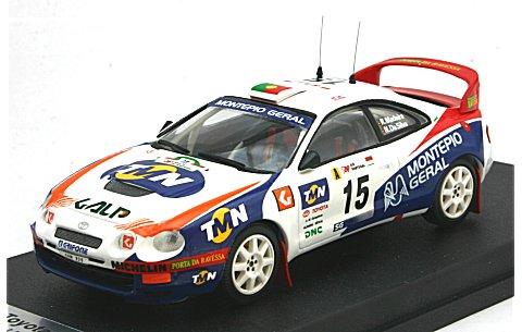 トヨタ セリカ ST205 1998 ポルトガルラリー 9位 (1/43 トロフューRral25)