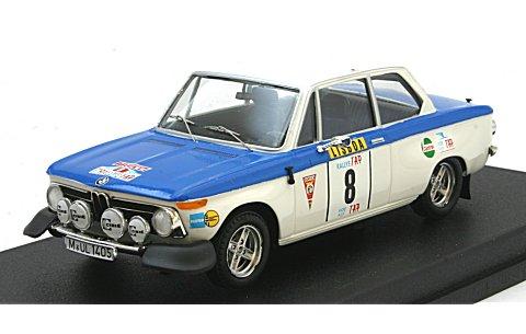 BMW 2002 Tii 1973 ポルトガルラリー (1/43 トロフューRral26)