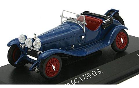 アルファロメオ 6C 1750 G.S. 1930 ブルー (1/43 ミニチャンプス400120431)