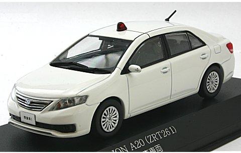 トヨタ アリオン A20 (ZRT261) 2011 警察本部刑事部捜査車両 (白) (1/43 レイズH7431111)