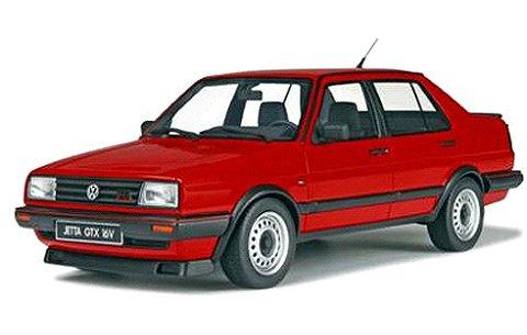 フォルクスワーゲン ジェッタ GTX 1987 レッド (1/18 オットーモビルOTM137)
