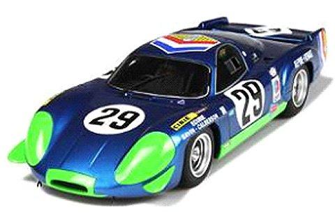 アルピーヌ A220 ル・マン 1969 Mブルー/レーシングデカール (1/18 オットーモビルOTM157)