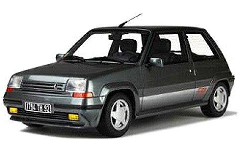 ルノー 5 GT ターボ 1987 グレーM (1/18 オットーモビルOTM608)
