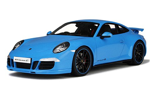 ポルシェ 991 カレラ 4S ブルー (1/18 GTスピリットGTS085)